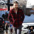 Ryan Reynolds dans les rues de Park City lors du Festival du Film de Sundance dans l'Utah, le 25 janvier 2015