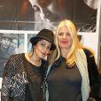 """Leïla Bekhti et la réalisatrice Brigitte Sy lors d'une avant-première du film """"L'astragale"""" à l'UGC Bordeaux à Bordeaux, le 25 mars 2015"""