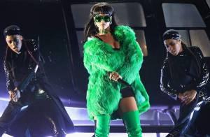 Rihanna : Diva intenable et acidulée devant Chris Brown