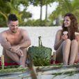 Images de la nouvelle télé-réalité de D8,  Adam recherche Eve , diffusée le 3 mars 2015 à 20h50.