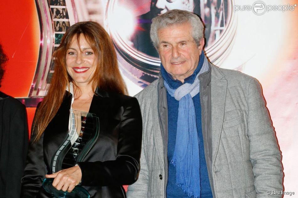 Audrey Dana, Claude Lelouch - Cérémonie du 10e prix Henri Langlois à la maison de l'UNESCO à Paris le 30 mars 2015.