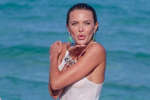 Tetyana Veryovkina : La bombe russe ose la transparence sur la plage de Miami...