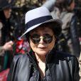 Yoko Ono à New York le 2 avril 2015.