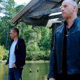 Paul Walker et Vin Diesel dans Fast & Furious 7.