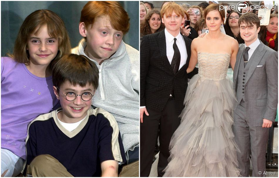 Harry ron hermione les stars d 39 harry potter ont bien - Rone harry potter ...