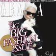 Karl Lagerfeld et Choupette pour Grazia