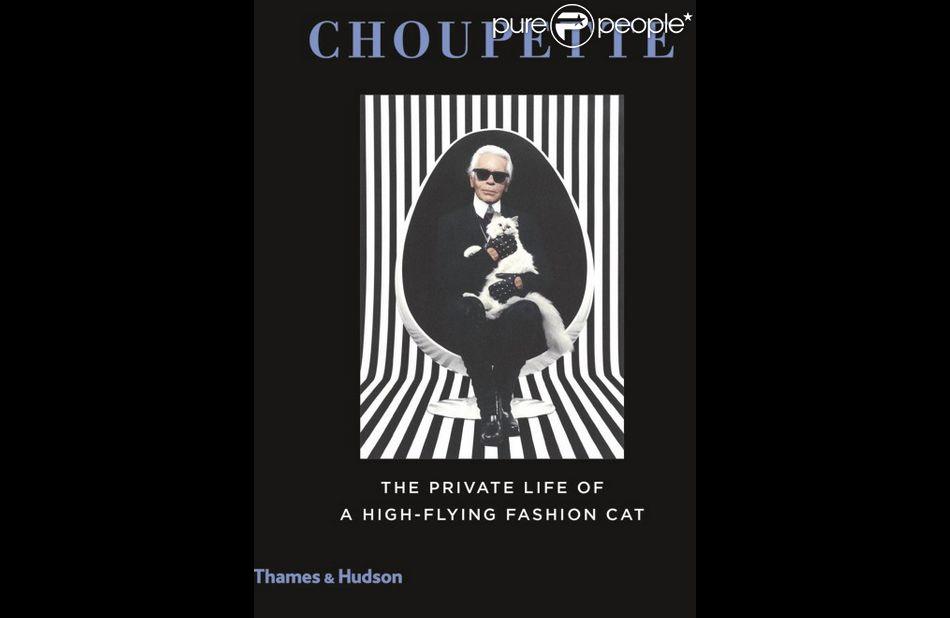 Karl Lagerfeld et Choupette sur la couverture du livre qui lui est consacré