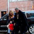 Beyoncé Knowles et son mari Jay-Z sont allés au défilé de mode de Kanye West à New York. Le 12 février 2015