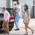 Reese Witherspoon lors du dimanche de Pâques se rend à l'église en famille, à Venice, Los Angeles, le 5 avril 2015