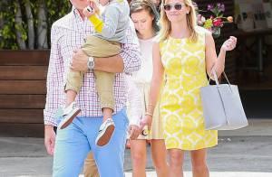 Reese Witherspoon et sa fille Ava hautes en couleur pour fêter Pâques en famille