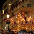 La procession de la semaine sainte à Malaga, le 2 avril 2015.