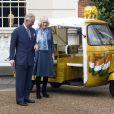 Le prince Charles et Camilla Parker Bowles, duchesse de Cornouailles, lors du lancement de l'initiative Travels to my Elephant pour l'association Elephant Family le 26 mars 2015 à Clarence House