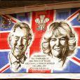 Souvenir, photographié en mars 2005, du mariage du prince Charles et de Camilla Parker Bowles, qui a eu lieu à Windsor le 9 avril 2005