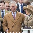 Le prince Charles et la duchesse Camilla à Ascot le 29 mars 2015.