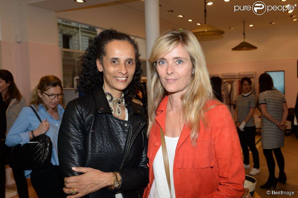 Karine silla marie poniatowski lors de l 39 inauguration du nouveau design ph m re de la boutique - La boutique de la silla ...