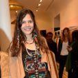 Vanille Clerc lors de l'inauguration du nouveau design éphémère de la boutique Comptoir des cotonniers de Saint-Sulpice à Paris, le 9 avril 2015