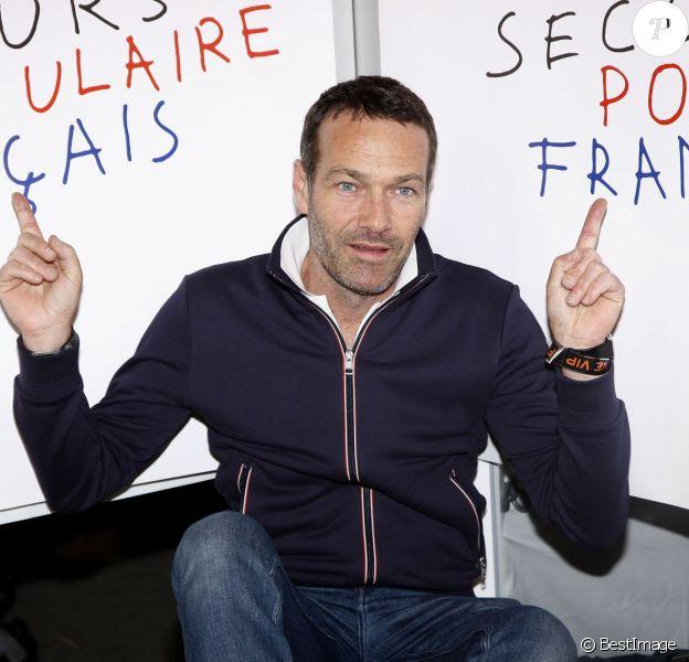 """Marc-Emmanuel Dufour - Soirée d'ouverture de la """"Foire du Trône"""" au profit de l'association """"Secours populaire"""" à Paris le 27 mars 2015."""
