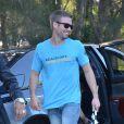 """Cody Walker, le frère de Paul Walker, a lancé, aux côtés de sa compagne, l'événement caritatif """"Paul Walker's Car Convoy Charity Drive"""" à Sydney le 11 avril 2015."""