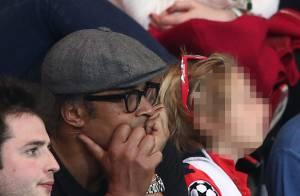 Yannick Noah et Pascal Obispo: Papas dépités avec leurs enfants devant PSG-Barça