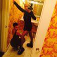 Miley Cyrus et Tallulah Belle Willis sur Instagram le 16 avril 2015