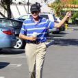 EXCLUSIF - Bruce Jenner dans les rues de Westlake Village, le 8 mars 2015