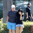 Bruce Jenner avec sa fille Kylie à Malibu le 27 septembre 2014