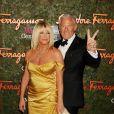"""""""Suzanne Somers et son mari - Soirée Salvatore Ferragamo à Los Angeles, le 17 octobre 2013"""""""