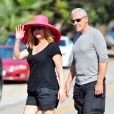 """"""" Suzanne Somers et son mari à Malibu, le 20 juillet 2012       """""""