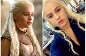 Emilia Clarke (Game of Thrones) : Sa doublure sexy est son parfait sosie !