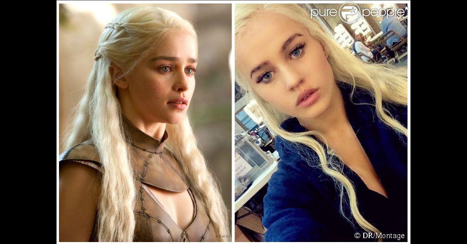 Emilia Clarke : sa doublure de Khaleesi Rosie Mac est son parfait sosie !