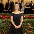 """Emilia Clarke - 21ème cérémonie annuelle des """"Screen Actors Guild Awards"""" à l'auditorium """"The Shrine"""" à Los Angeles, le 25 janvier 2015"""