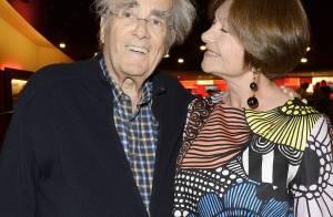 Michel Legrand et Macha Méril : Soirée au théâtre, amoureux comme deux ados...