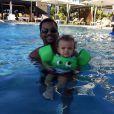 Alfonso Ribeiro et son fils Alfonso Jr., le 11 décembre 2014 sur Twitter