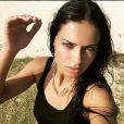 Adriana Lima, un selfie au top