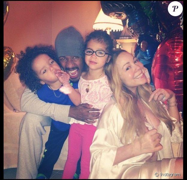 Nick Cannon a fêté les quatre ans de ses deux enfants avec Mariah Carey, le 30 avril 2015