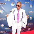 """Nick Cannon sur le tapis rouge de la saison 10 de """"America's Got Talent"""" à Hollywood, le 8 avril 2015"""