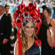 La star américaine Sarah Jessica Parker - Soirée Costume Institute Gala 2015 dit Met Ball au Metropolitan Museum of Art à New York, le 4 mai 2015 (crédit vidéo Reuters/Getty)