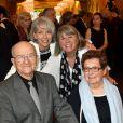 Mimie Mathy a été décorée de la Légion d'honneur avec les insignes de chevalier - Pavillon Dauphine à Paris, lundi 4 mai 2015. Les parents de l'actrice étaient présents, ainsi que ses soeurs.