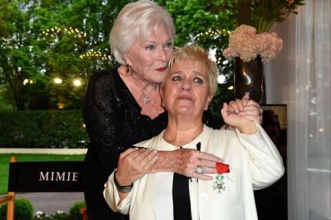 Mimie Mathy en larmes : Entourée des siens et décorée par Line Renaud