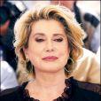 Catherine Deneuve à Cannes le 12 mai 2005.