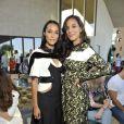 Les soeurs Brooklyn et Amanda Sudano lors du défilé Louis Vuitton croisière 2016 à la résidence de Bob et Dolores Hope. Palm Springs, le 6 mai 2015.