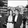 Sophie Marceau et Pierre Cosso à Cannes en 1983.