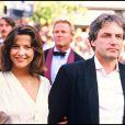 Sophie Marceau et Andrzej Zulawski à Cannes le 13 mai 1985.