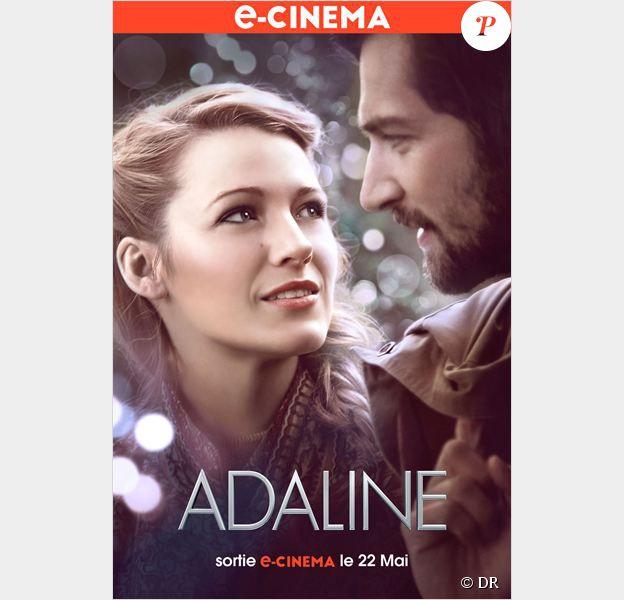 Affiche du film Adaline, disponible en e-cinéma dès le 22 mai 2015