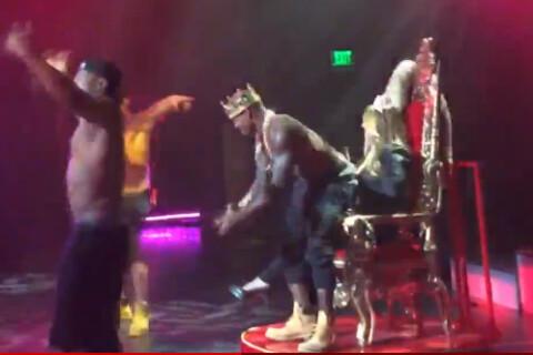 Mariah Carey à Las Vegas : La diva se lâche au milieu des Chippendales