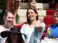 Pauline Ducruet et Alexandra de Hanovre : Complices au baptême à Monaco