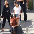 "Rumer Willis, Tallulah Willis, Zendaya Coleman - Les danseurs de ""Dancing With The Stars"" dans les studios de Hollywood, le 11 mai 2015"