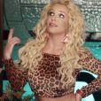 Britney Spears dans le clip de son nouveau single intitulé Pretty Girls