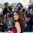 "Salma Hayek - Photocall du film ""Tale of Tales"" lors du 68e Festival International du Film de Cannes, le 14 mai 2015."