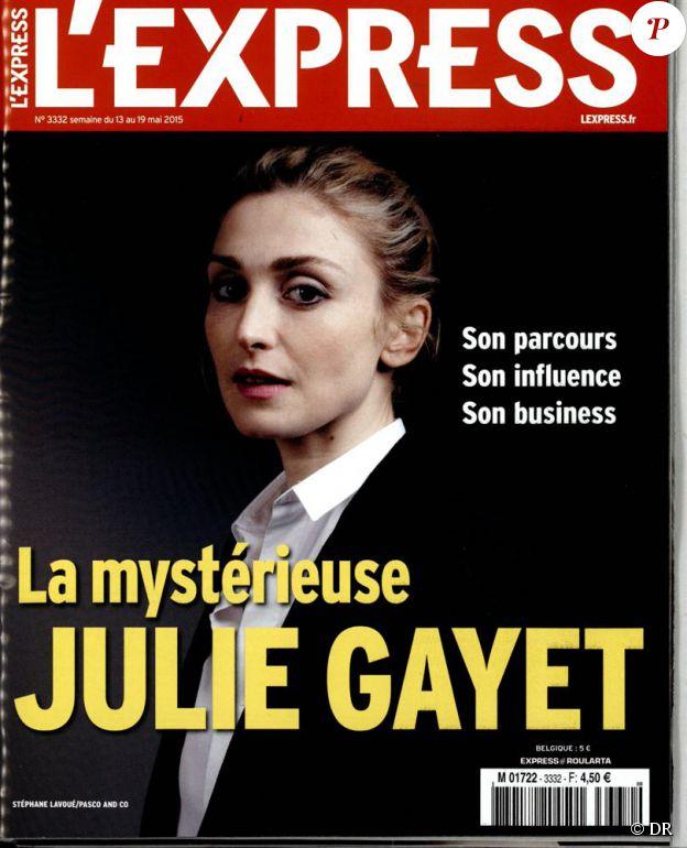 Le magazine L'Express du 13 mai 2015